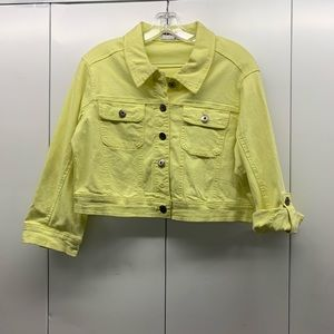 Vintage yellow denim jacket